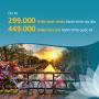 Vietnam Airlines giá chỉ 399k