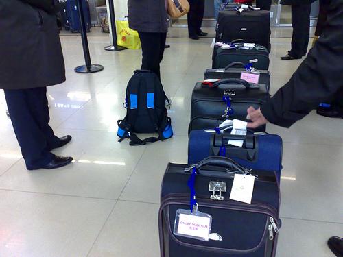 hành lý đi máy bay